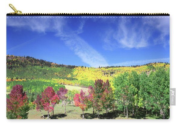 Fall On County Road 12 Carry-all Pouch