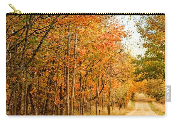 9012 - Fall On Murphy Lake II Carry-all Pouch