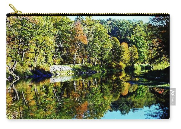 Fall On The Ottauquechee River Carry-all Pouch