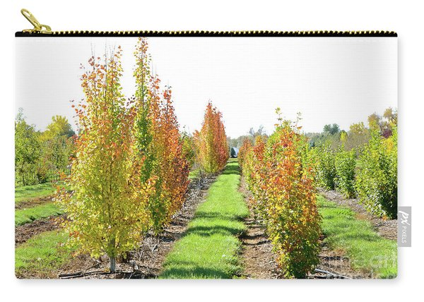 Fall On The Tree Farm Carry-all Pouch