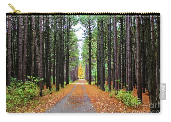 Fall Pines Road Carry-all Pouch