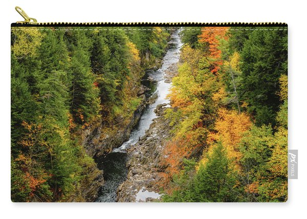 Fall Quechee Gorge, Vt Carry-all Pouch