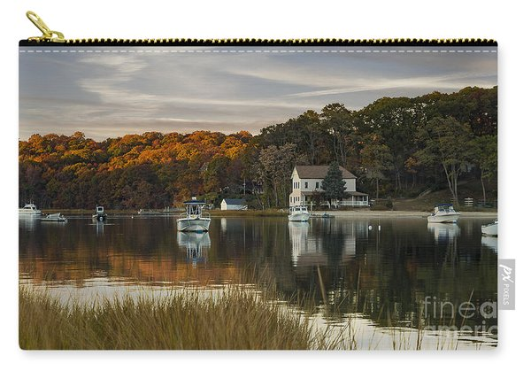 Fall Sunset In Centerport  Carry-all Pouch