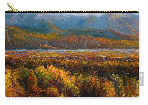 Carry-all Pouch featuring the painting Fall by Talya Johnson