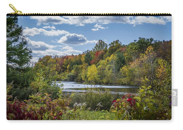 Fall Time On The Lake Carry-all Pouch