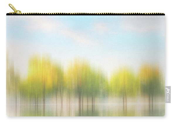 Fall Trees On Flooded Lake Carry-all Pouch