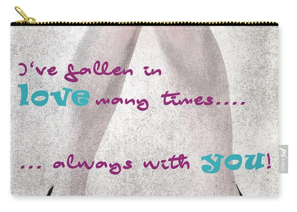 Fallen In Love Carry-all Pouch