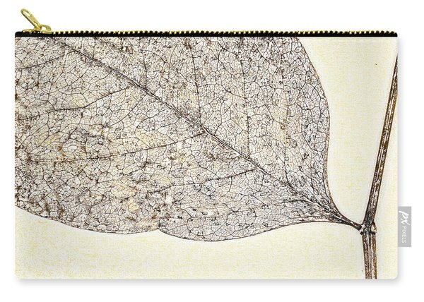 Fallen Leaf One Of Two Carry-all Pouch