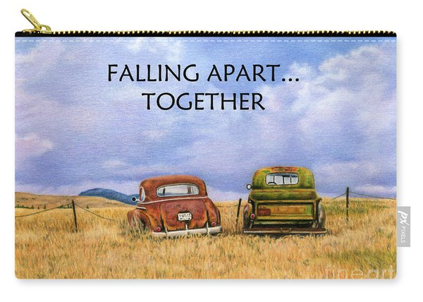 Falling Apart Together Carry-all Pouch