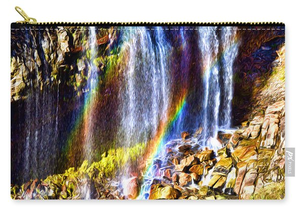 Falling Rainbows Carry-all Pouch