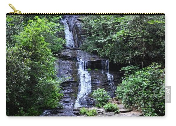 Falls Near Bryson City Carry-all Pouch