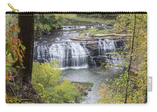 Falls Through The Trees Carry-all Pouch