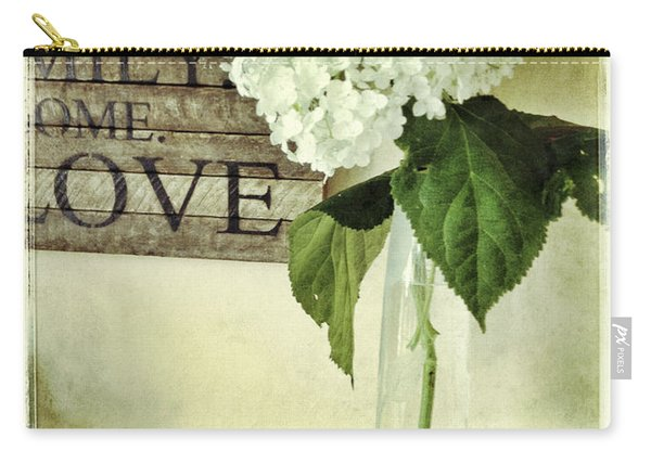 Family, Home, Love Carry-all Pouch