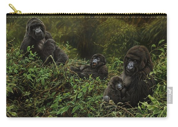 Family Of Gorillas Carry-all Pouch