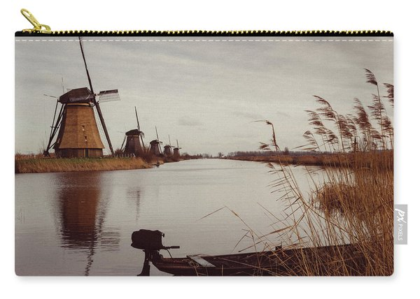 Famous Windmills At Kinderdijk, Netherlands Carry-all Pouch