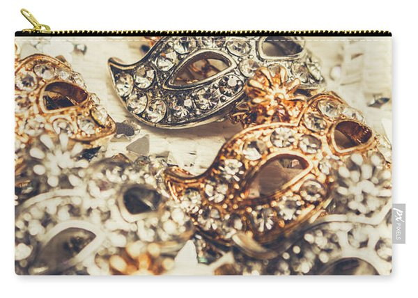 Fancy Dress Timepieces Carry-all Pouch