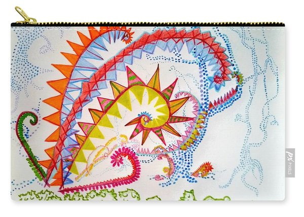 Fantasy Ferns In Fantasy Forest Carry-all Pouch