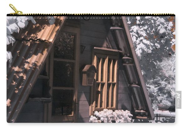 Fantasy Wooden House Carry-all Pouch