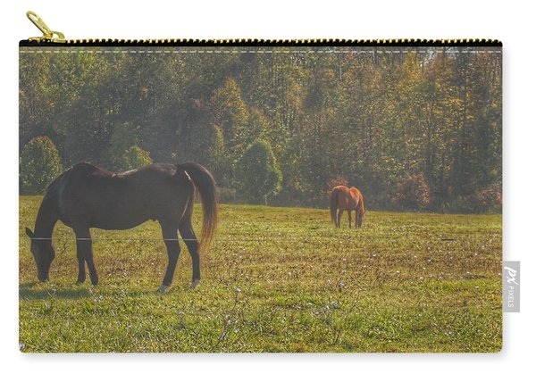 1012 - Fargo Road Horses I Carry-all Pouch