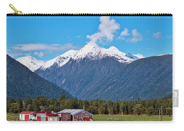 Farm And Mountains - New Zealand Carry-all Pouch