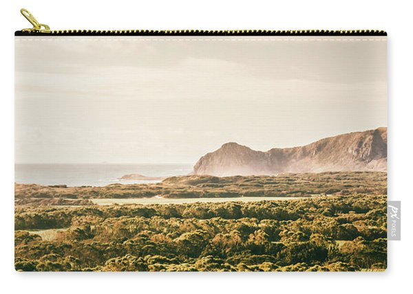 Farm Fields To Seaside Shores Carry-all Pouch