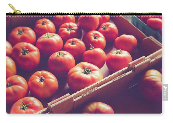 Farm Fresh Tomatoes At A Farm Stand Carry-all Pouch