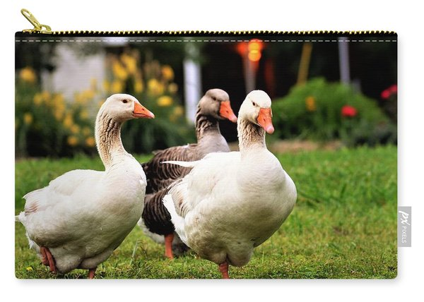 Farm Geese Carry-all Pouch