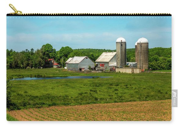 Farm In Scotch Village Carry-all Pouch