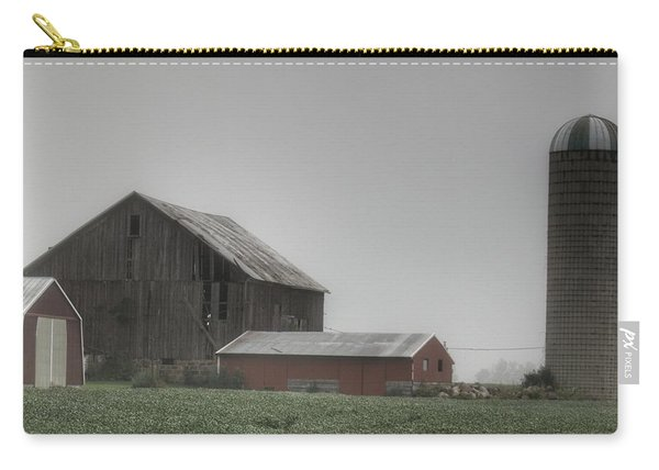 0011 - Farm In The Fog II Carry-all Pouch