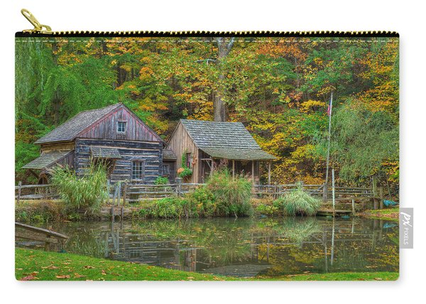 Farm In Woods Carry-all Pouch