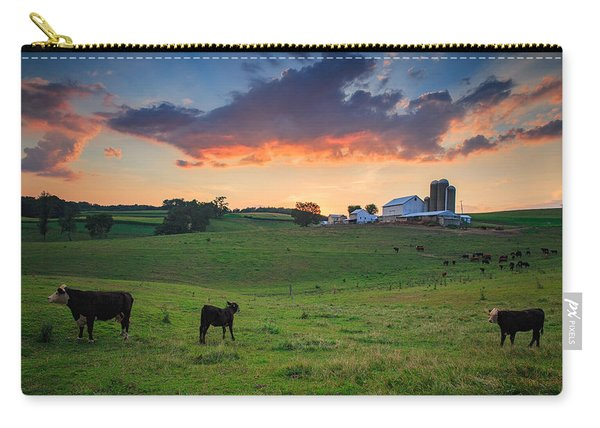 Farm Life In Beaver County Carry-all Pouch