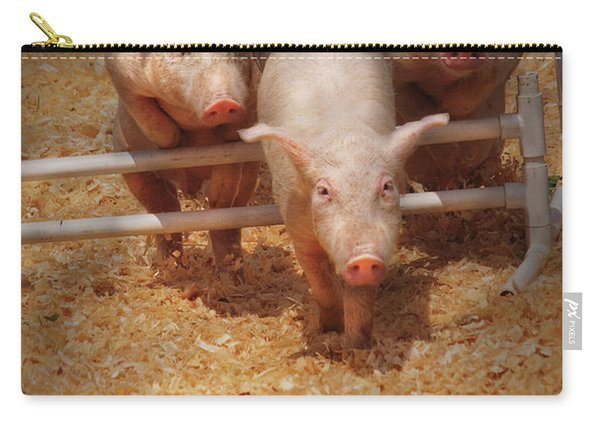 Farm - Pig - Getting Past Hurdles Carry-all Pouch