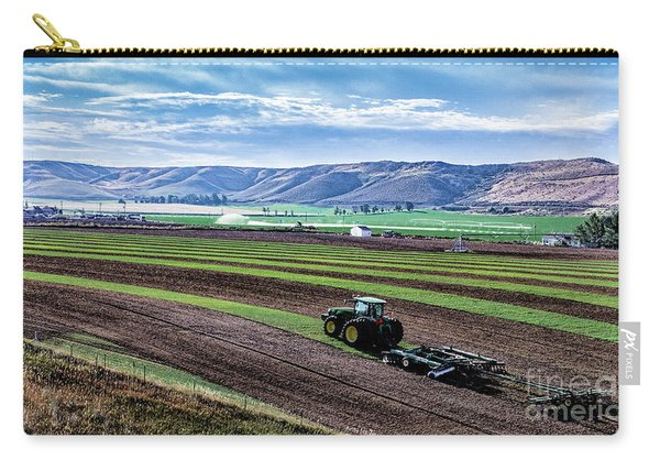 Farming In Pardise Agriculture Art By Kaylyn Franks Carry-all Pouch