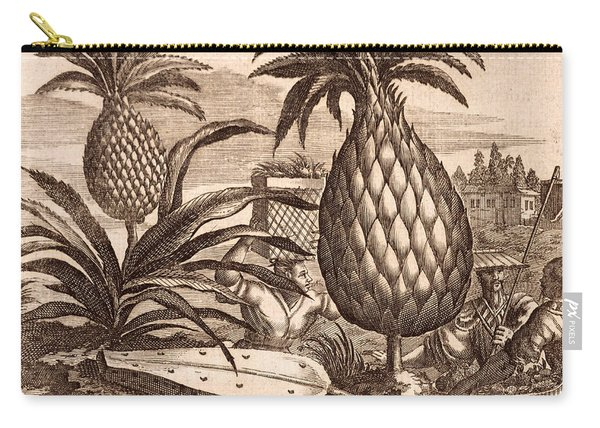 Farming Large Pineapples Carry-all Pouch