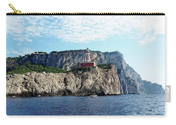 Faro Lighthouse - Ise Of Capri Carry-all Pouch