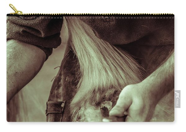 Farrier Hot Shoe Carry-all Pouch