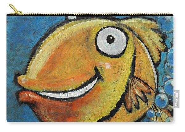 Farting Fish Carry-all Pouch