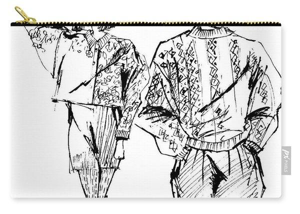 Fashion Couple Carry-all Pouch