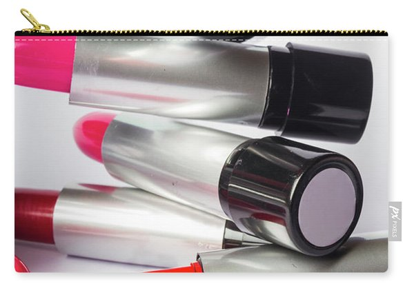 Fashion Model Lipstick Carry-all Pouch