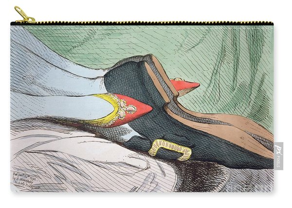 Fashionable Contrasts Carry-all Pouch