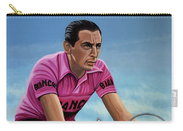 Fausto Coppi Painting Carry-all Pouch