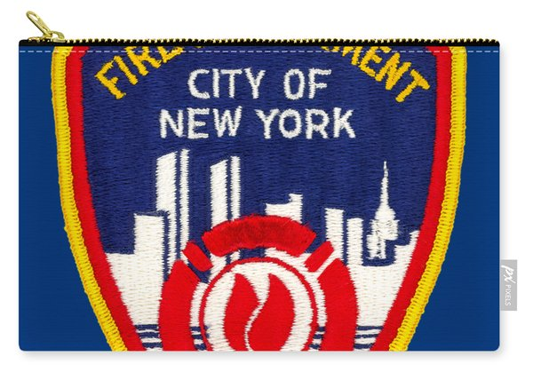 F.d.n.y. - Uniform Patch, Fire Department New York Carry-all Pouch