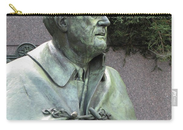 Fdr Statue At His Memorial In Washington Dc Carry-all Pouch