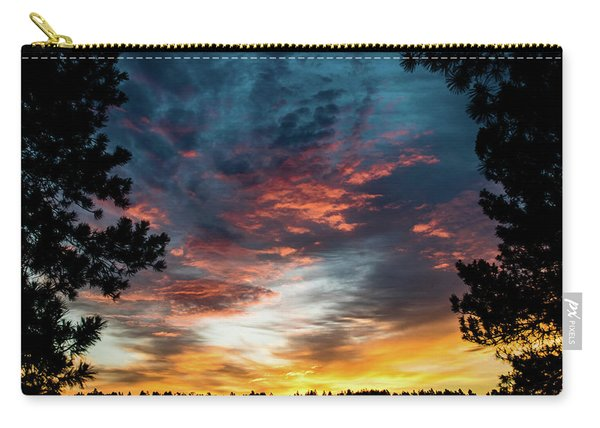 Carry-all Pouch featuring the photograph Fearless Awakened by Jason Coward