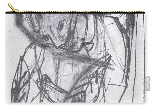 Feather Writer Carry-all Pouch