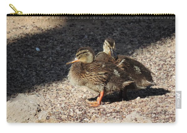 Fuzzy Feathered Friends Carry-all Pouch