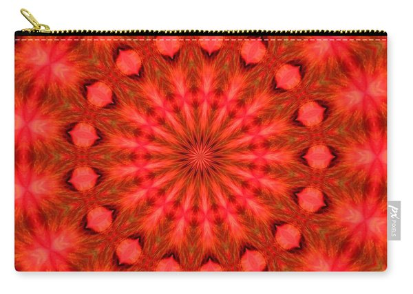Feathered Rouge Carry-all Pouch