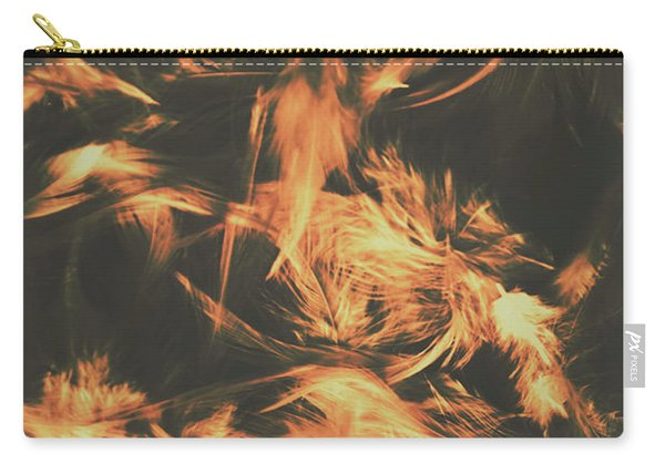 Feathers And Darkness Carry-all Pouch
