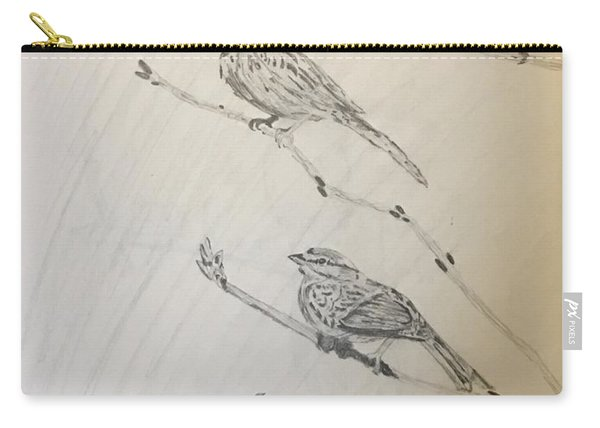 Feathers Friends Carry-all Pouch