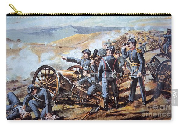 Federal Field Artillery In Action During The American Civil War  Carry-all Pouch